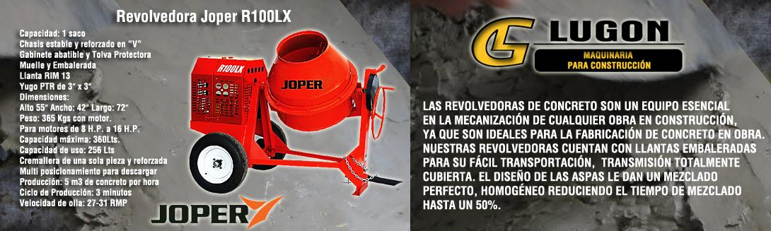 Revolvedora Joper R100LX