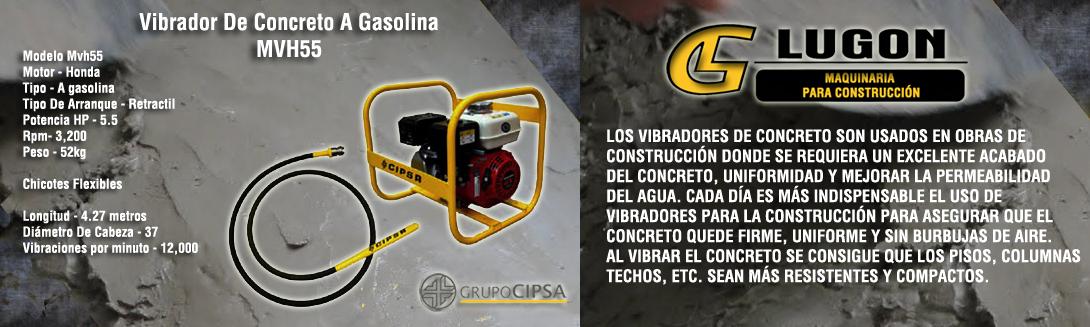 Vibrador De Concreto A Gasolina Mvh55