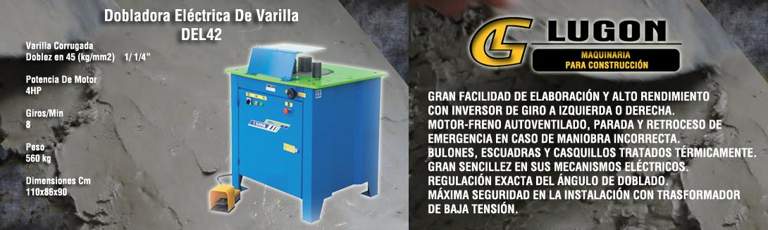 Dobladora Eléctrica De Varilla DEL42